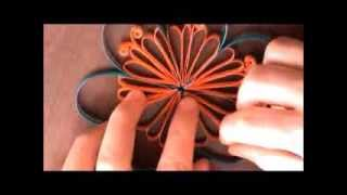 DIY Paper Quilled Flower for Decoration