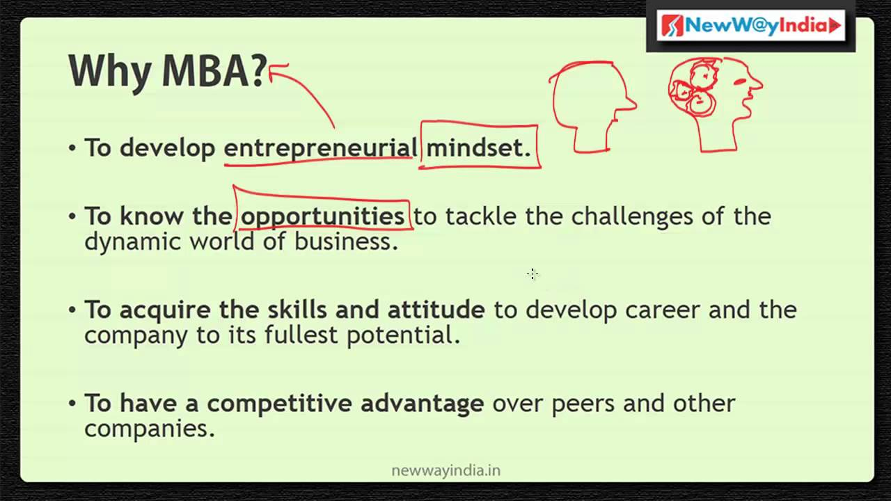 MBA 101 - Why MBA? - Why Do You Really Need an MBA? - Best MBA ...