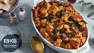 Sausage & Broccoli Rabe Stuffing | Big Little Recipes