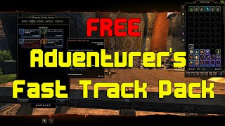 Neverwinter: Free Adventurer's Fast Track Pack