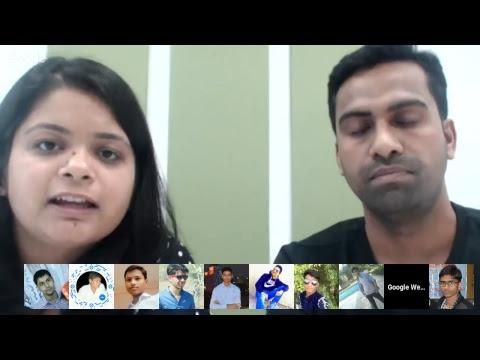 (ऐडसेंस विशेष) गूगल द्वारा हिंदी वेबमास्टर्स के लिये Hangouts ऑन एयर