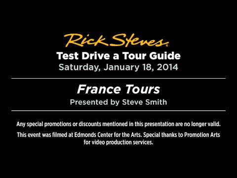 Test Drive a Tour Guide: France