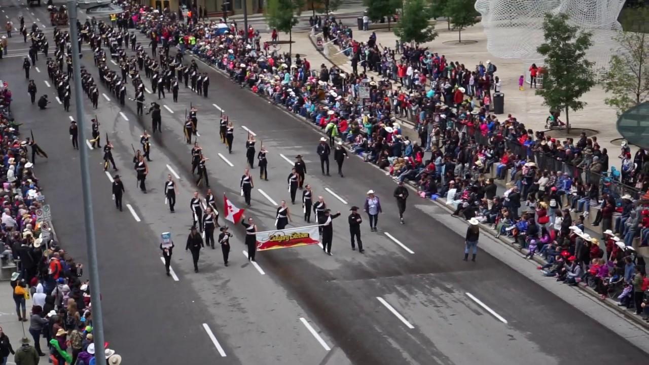 Calgary Stetson Showband Stampede Parade 2019 Calgary