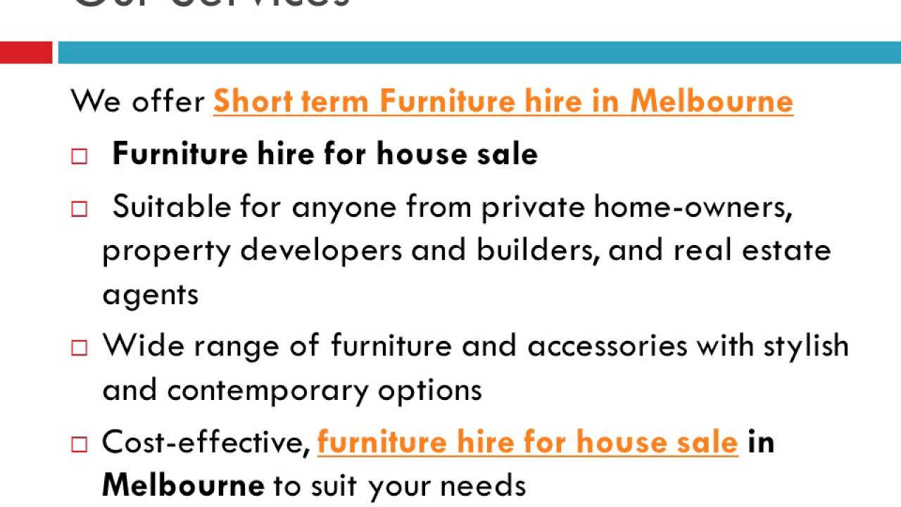 Furniture Hire Melbourne   Piller Property Styling   YouTube