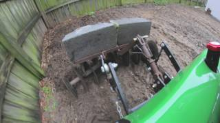 Deep Discing with The 1991 John Deere 332 Part 1