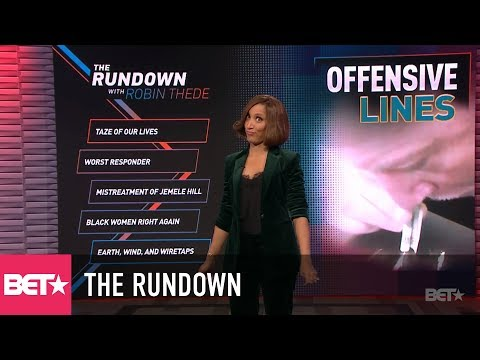 Offensive Lines – NFL Takes Huge BLOW | The Rundown With Robin Thede