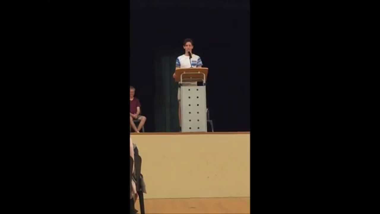 nomination speech for school captain