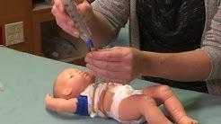 Giving medicines through a G-tube or J-tube