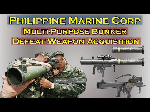 Phil. Marine Procurement of Nammo Defense Mk.153 SMAW II