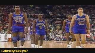 2003-04 Detroit Pistons Championship Season Part 2/4