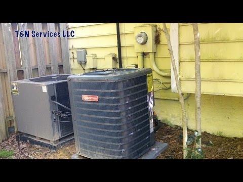 Goodman HVAC Hack Job: Unit Bought Online