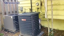 Goodman HVAC Hack Job: Unit bought online