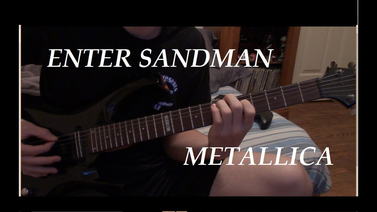 enter sandman metallica guitar lesson youtube. Black Bedroom Furniture Sets. Home Design Ideas