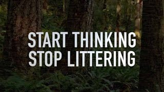 Start Thinking Stop Littering | Power Of Video