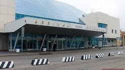 Flughafen Pulkovo - St. Petersburg, Russland