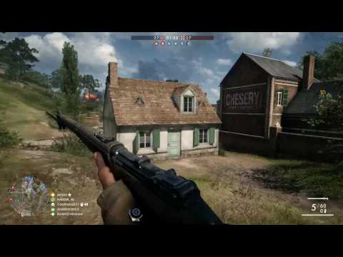 Battlefield 1 - Conquest match 103 - 1080p 60fps PC - No commentary
