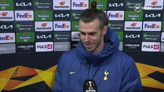 Gareth Bale reflects on a big win for Tottenham as Wolfsberger brushed aside