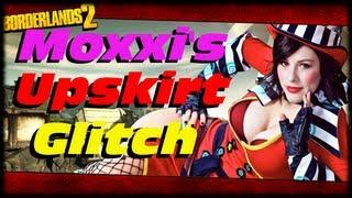borderlands 2 moxxi s upskirt panties glitch under moxxi s bar and map glitch 1080p