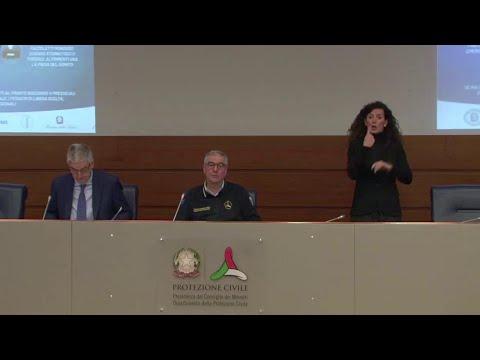 Coronavirus, Borrelli: 'In Italia 14.955 i contagiati, 2116 più di ieri, 250 i nuovi decessi'