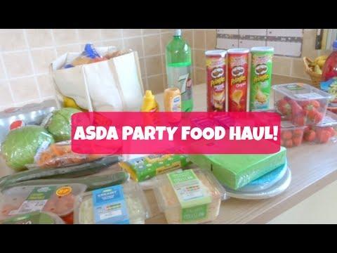 ASDA Food Haul - Healthy Food Finds - YouTube