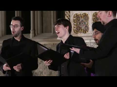 Agnus Dei from Mass for five voices (William Byrd) The Gesualdo Six at Ely Cathedral