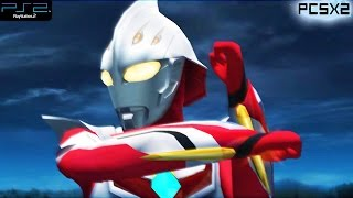 Ultraman Nexus - PS2 Gameplay 1080p (PCSX2)