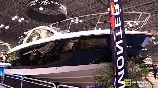 2015 Monterey 360CS Motor Yacht - Walkaround - 2015 New York Boat Show