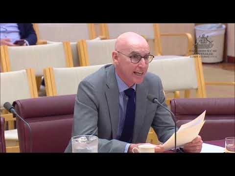 NBN Senate Hearing - 7th Dec 2018 - Mike Quigley - first NBN CEO