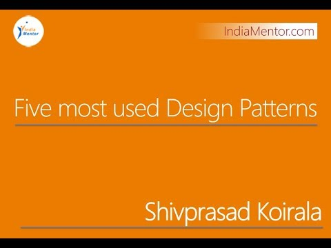 Five most used Design Patterns