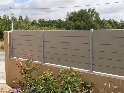 Build Wood Plastic Privacy Fence For Outdoor Patio