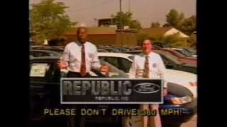 KOLR 10 Springfield, MO commercials 1994 (Letterman)