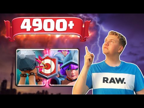 MASTER 1! 3 Musketeers Battle Ram Beatdown Deck LIVE Ladder Gameplay - Clash Royale
