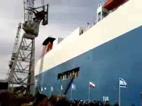Baltic Ace Naming ceremony