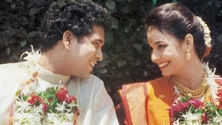 SACHIN TENDULKAR WITH WIFE AND FAMILY PICTURES
