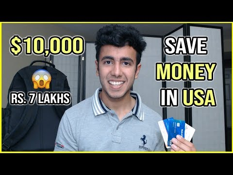 Save Money in USA ($10,000/ Rs 7 Lakhs) as Student | Study in America