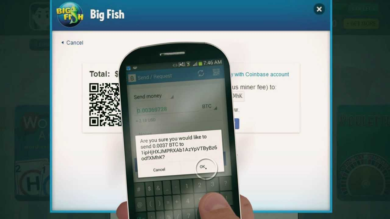 How To Use Bitcoin To Buy Games On Big Fish
