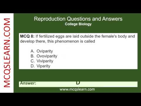 reproduction questions and answers
