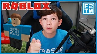 Playing with Fraser2TheMax on ROBLOX!