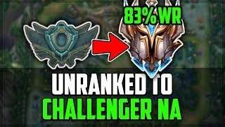 83% WIN RATE LAN Challenger UNRANKED TO CHALLENGER NA | Episode 1