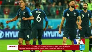 CHAMPIONS DU MONDE ! Retour sur le parcours des Bleus au MONDIAL-2018