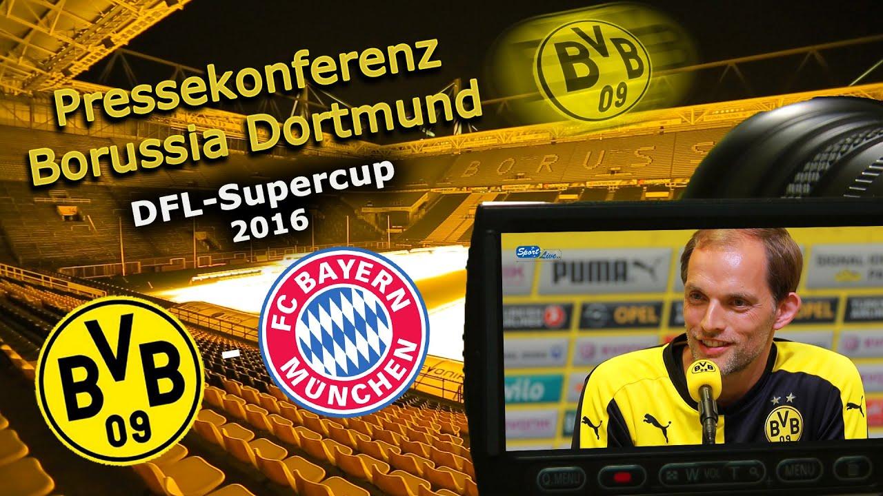 Supercup BVB-Pressekonferenz vom 13.08.2016
