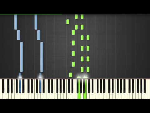 AsapSCIENCE - The Science Love Song - Piano tutorial (Synthesia)