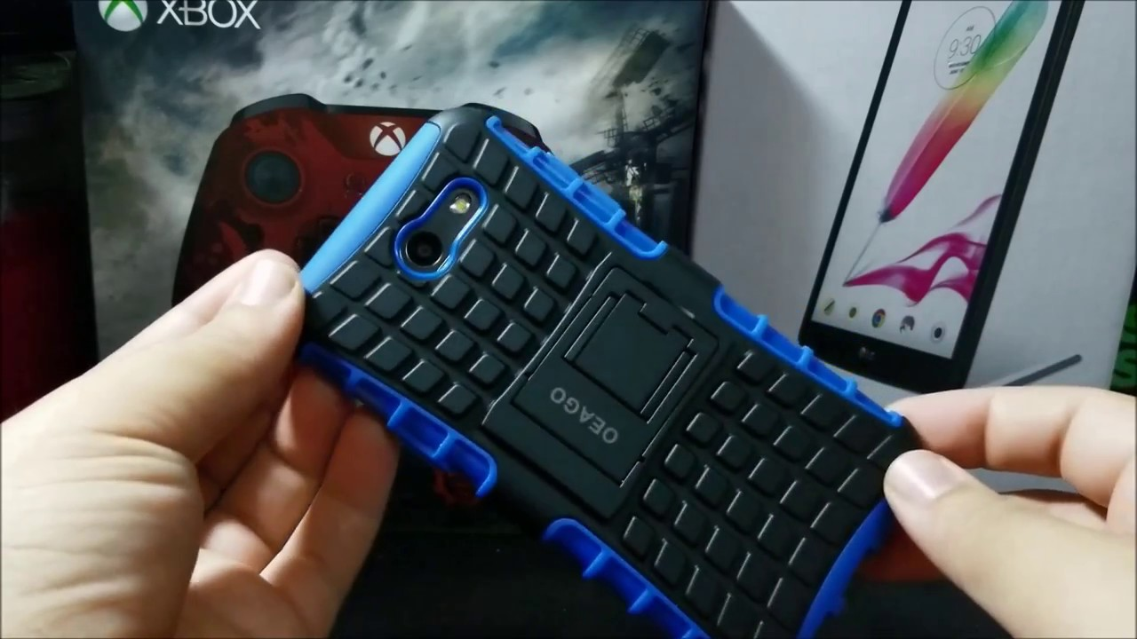 hot sale online 43a21 fcc1c MetroPCS Samsung Galaxy J3 Prime Hybrid Case Unboxing