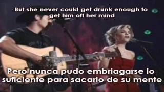 Whiskey Lullaby Lyrics - Subtitulos Español