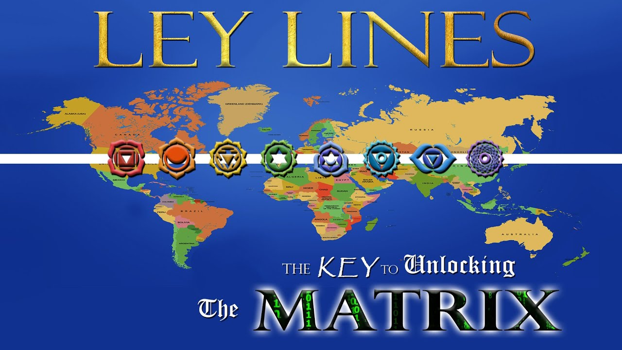 100 Magnetic Ley Lines In America Earth Energy Grid