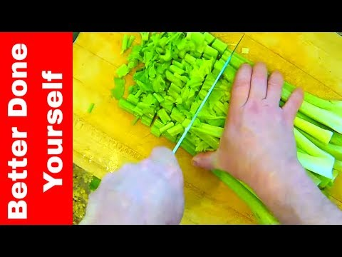 How to Make Naturally Fermented Probiotic Celery Salad