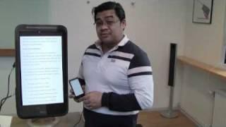 HTC Sense -  Textanpassning och översättning