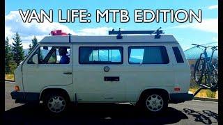 VAN LIFE: MTB EDITION - New School vs. Old School setups!