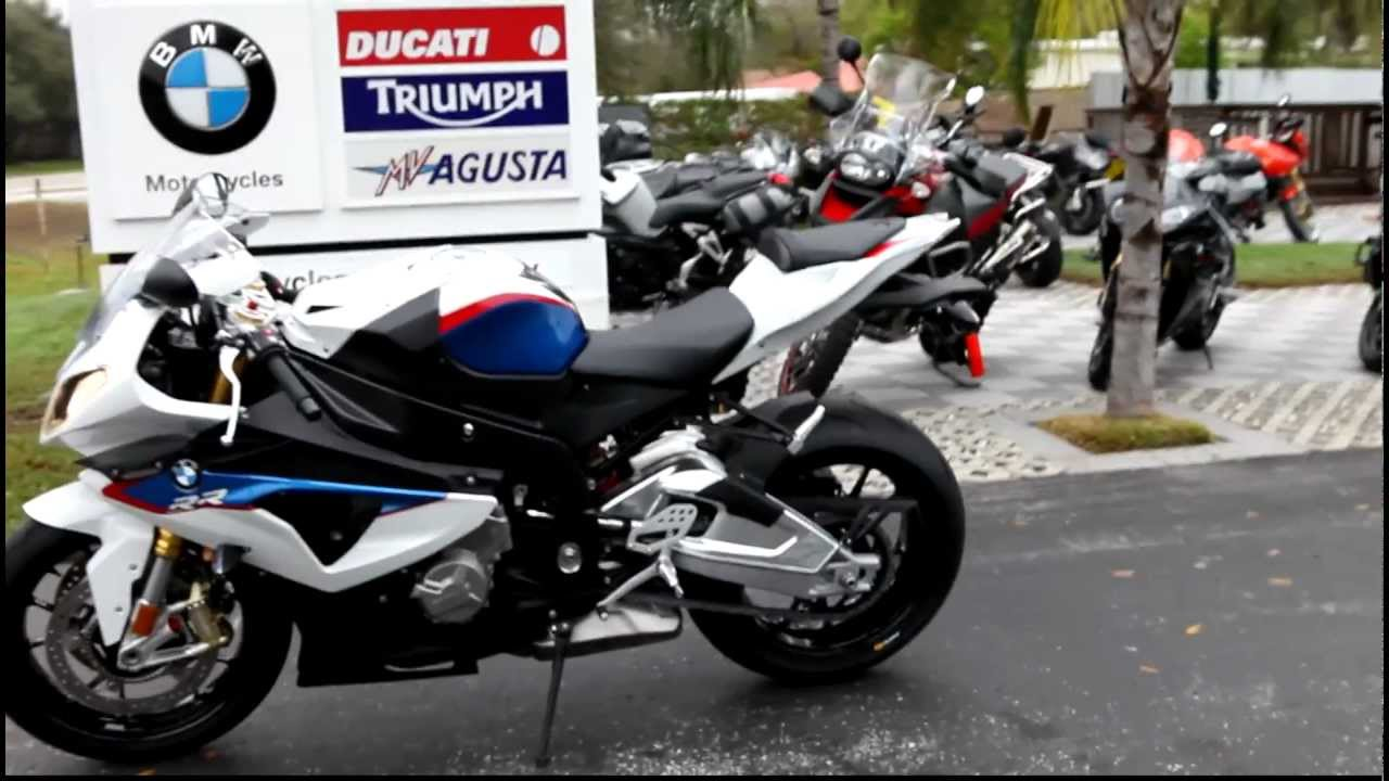 2012 Bmw S1000rr Red White Blue Youtube