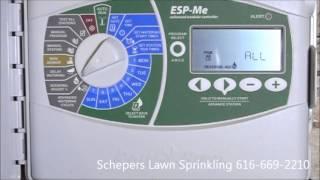 esp me modular irrigation controller programming instruction